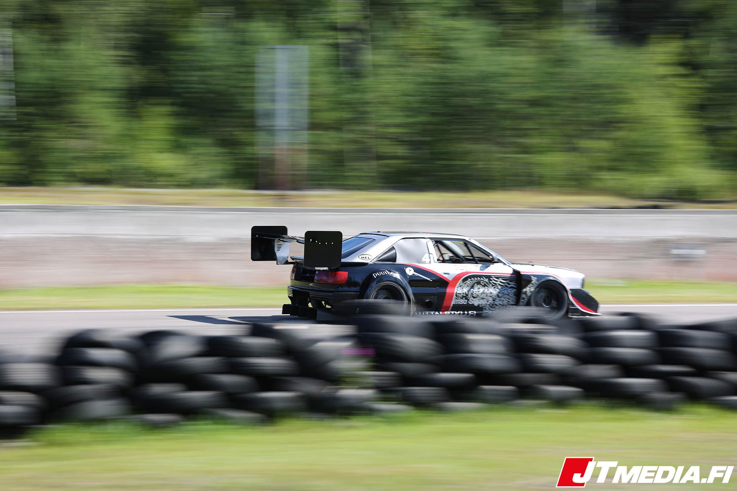 Audi S2 Imsa Sipoo Time Attack