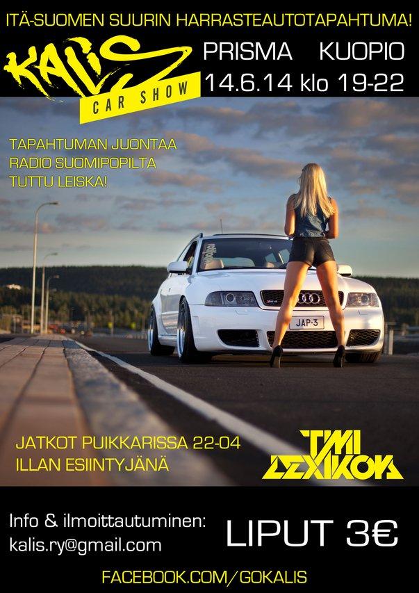 Kalis Car Show: Kuopio 14 6 2014 _img1280